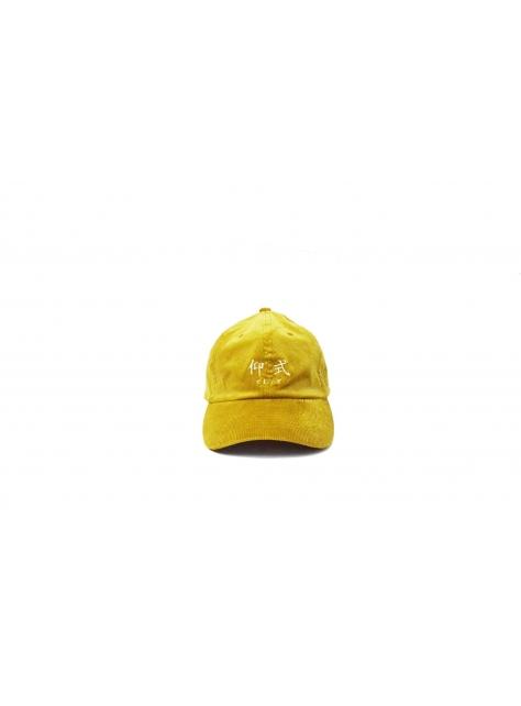仰式燈芯絨老帽