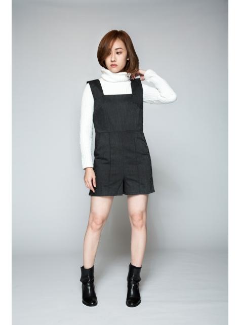 【FFLives x 黃格】 飄渺主義,棉麻連身褲