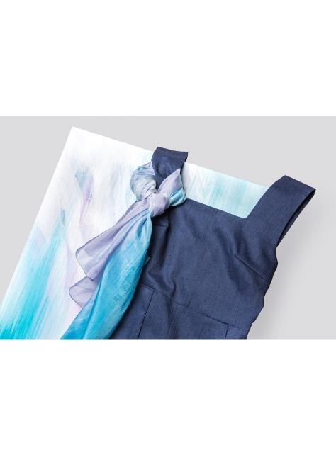 【FFLives x 黃格】 飄渺主義 連身褲絲巾組