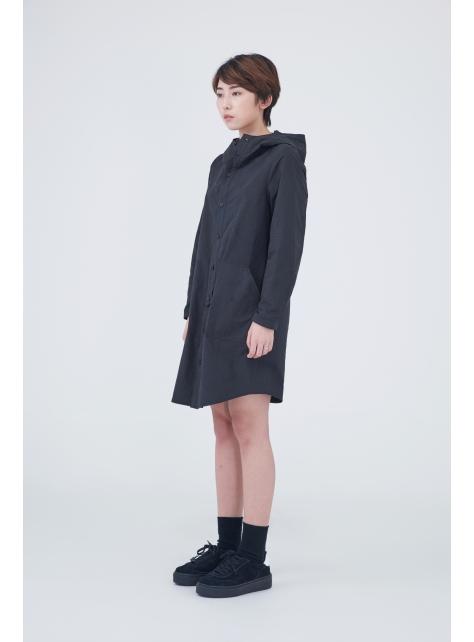 棉質連帽洋裝