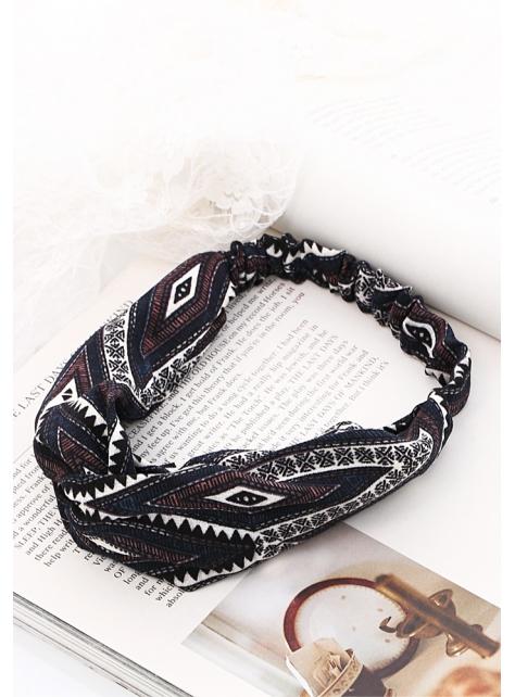 Boximiya totem cross wind elastic hair band