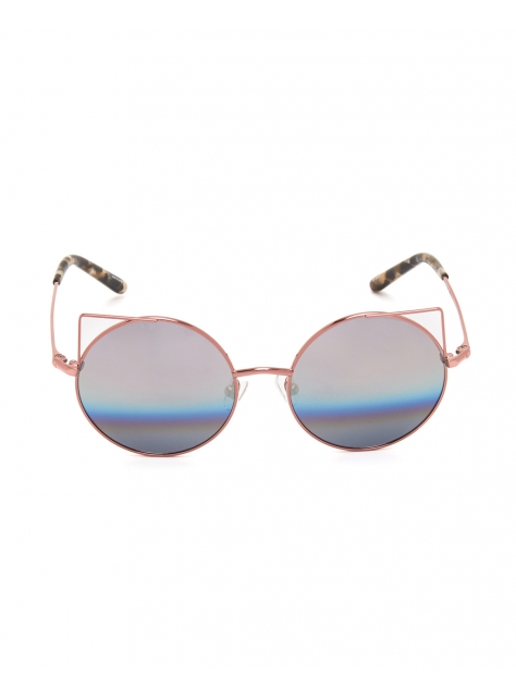 鏤空貓眼框墨鏡