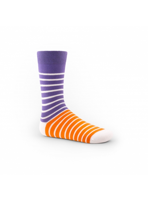 森巴橫紋系列(紫橘色款)