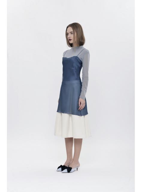 透視貼身吊帶裙