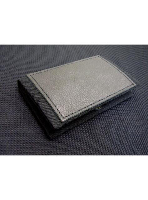 BLACK x BLACK-手做皮革帆布卡片/名片夾