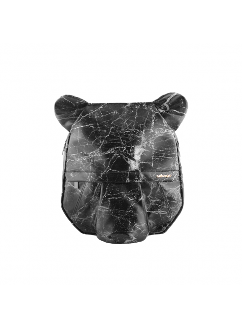 ORIBAGU 摺紙包_黑大理石熊 後背包