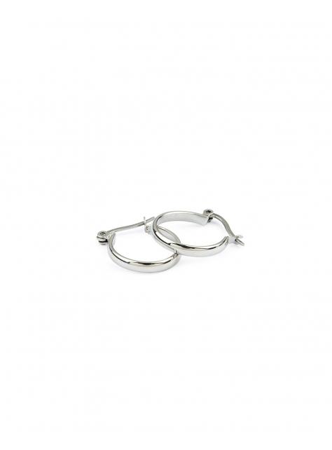 弧面耳環-鋼製