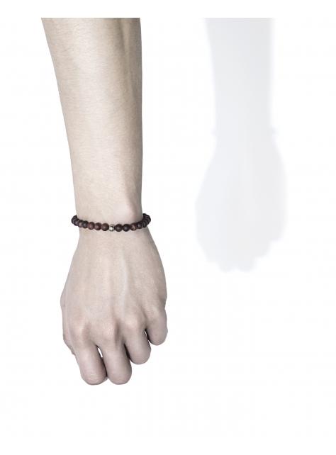 6MM霧色串珠手環