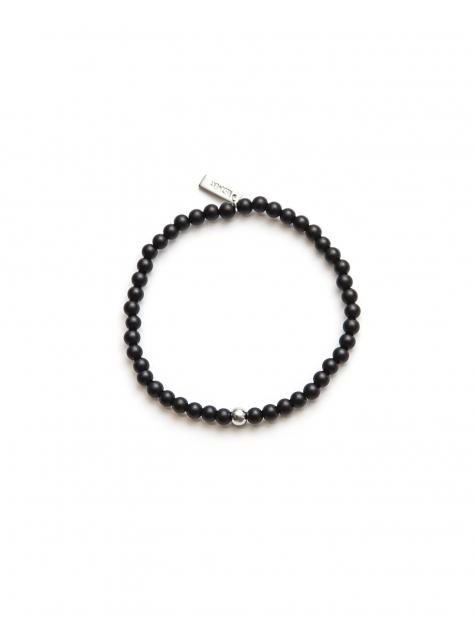 4MM霧色串珠手環