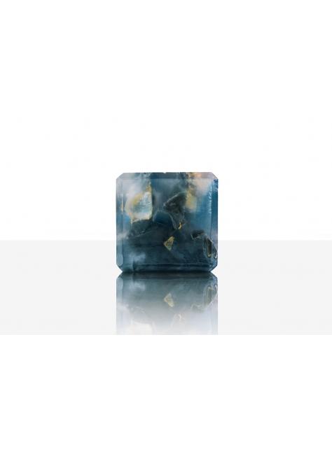 宇宙魔方皂(中性香水手工皂)-經典木質/深藍色