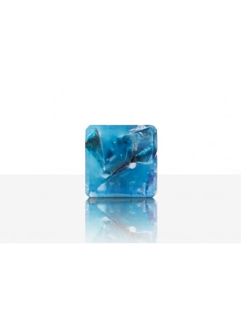 宇宙魔方皂(中性香水手工皂)-清新海洋/藍紫色