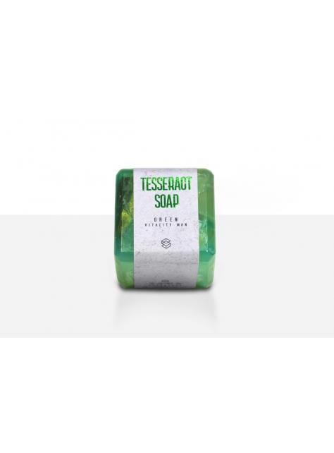 宇宙魔方皂(中性香水手工皂)-活力紳士/綠橘色