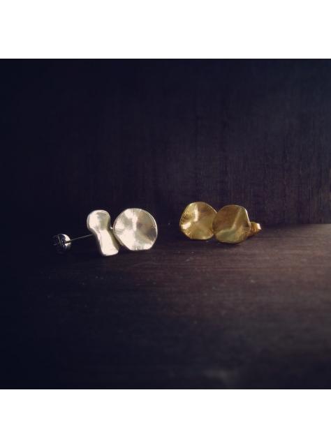 Cheeky 厚臉皮 -金工手工純銀耳環 Silver earrings