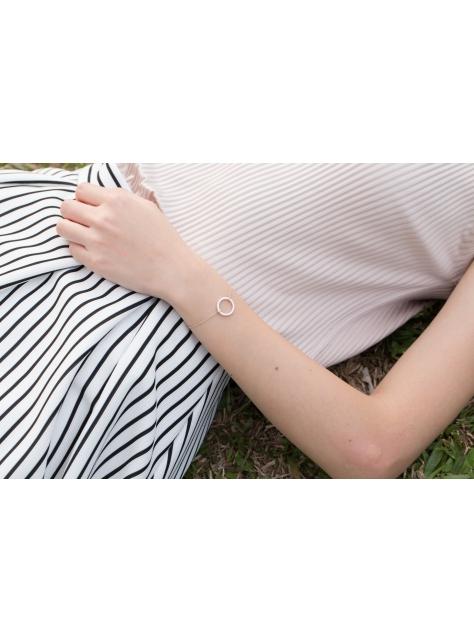 Circular 迴圈 -金工手工純銀手鍊 Silver Bracelet
