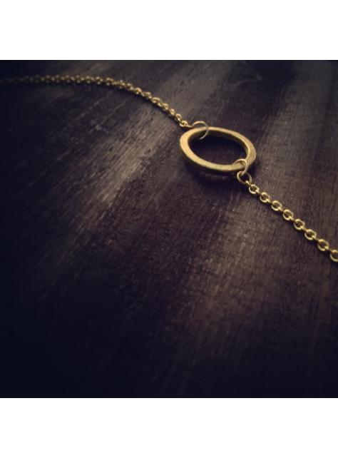 Circular 迴圈 -金工手工黃銅手鍊 Brass Bracelet