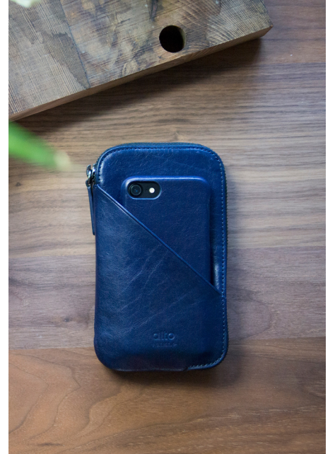 Travel Phone Wallet - Navy