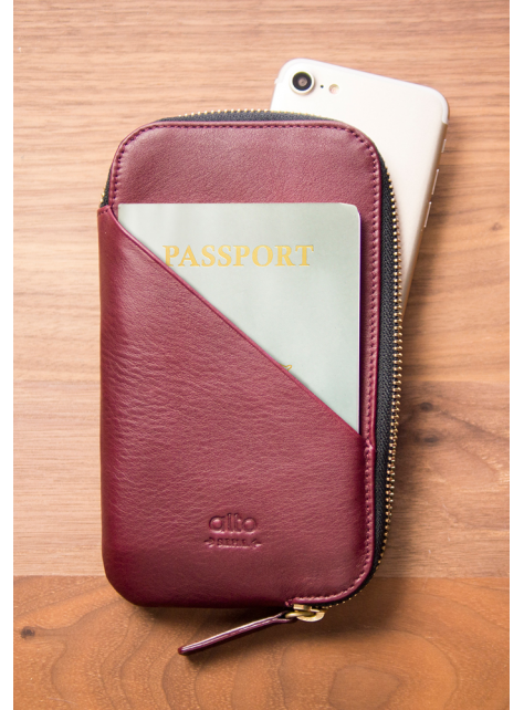 Travel Phone Wallet - Chianti