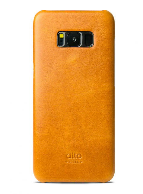 Samsung Galaxy S8 Original Leather Case - Caramel