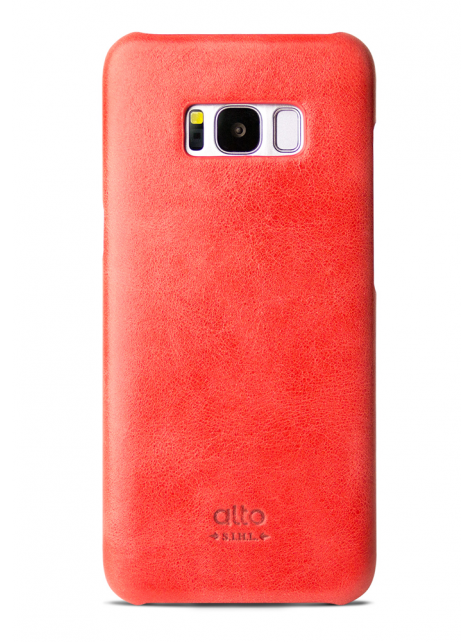 Samsung Galaxy S8 Original Leather Case - Coral
