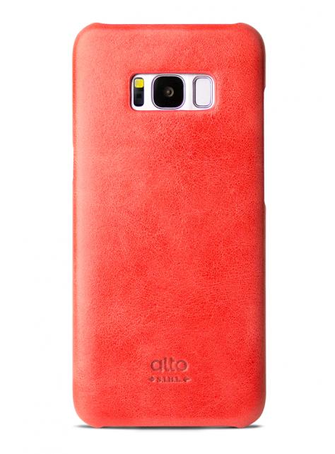Samsung Galaxy S8 Original Leather Case - Coral