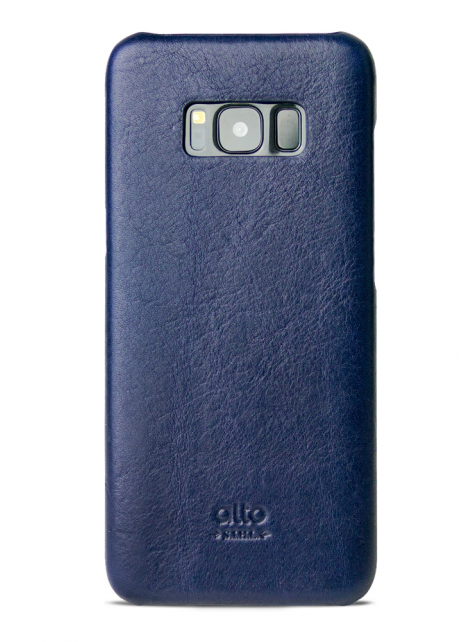 Samsung Galaxy S8 Original Leather Case - Navy
