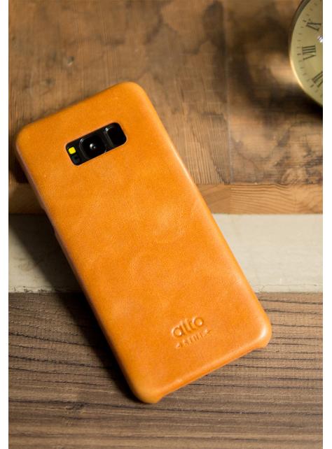 Samsung Galaxy S8+ Original Leather Case - Caramel