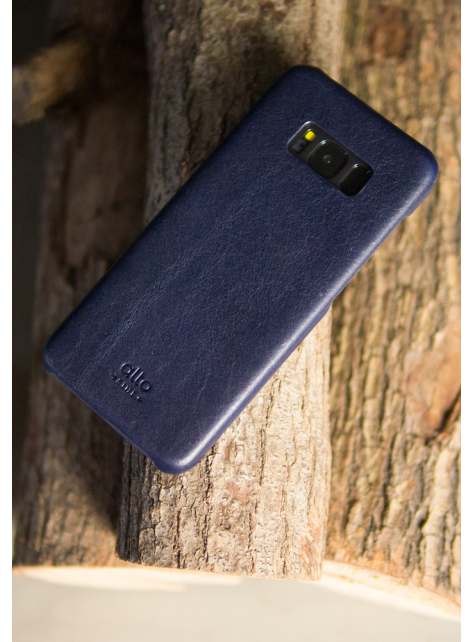 Samsung Galaxy S8+ Original Leather Case - Navy