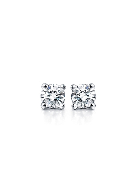 【E5-01/E5-02】頂級美國ILG鑽飾 20分四爪單鑽耳環