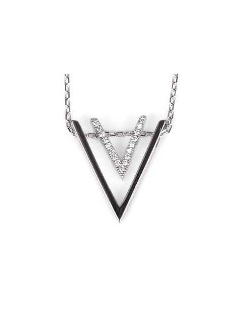 【NC115】頂級美國ILG鑽飾 V型紐約時尚項鍊