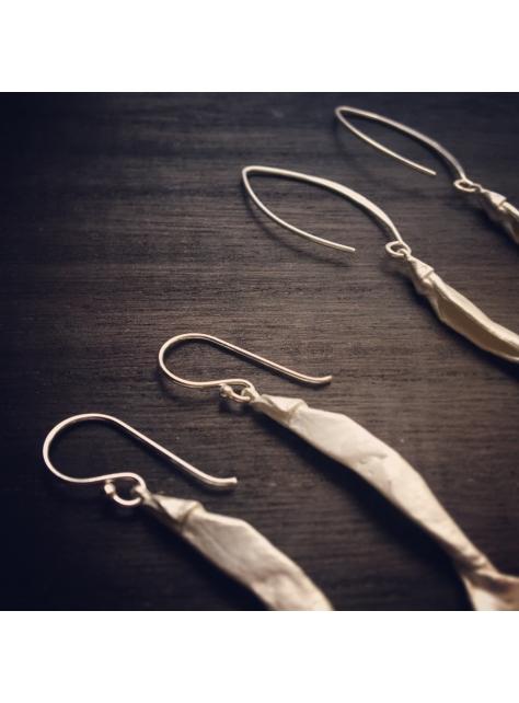 Origamini 小摺學 釣魚耳環 Fishing Earrings 純銀 925 Silver