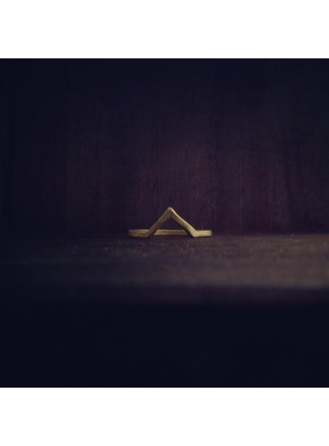 Beats 悸 -金工手工黃銅 Brass 戒指 ring V