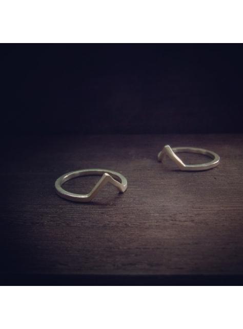 Beats 悸 -金工手工純銀 925 Silver 戒指 ring V