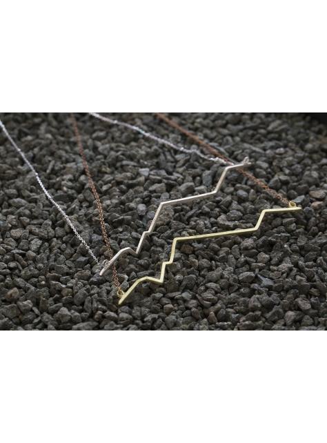 Beats 悸 -金工手工純銀 925 Silver項鍊 necklace M
