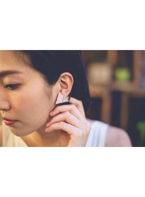 【日常系列】纏繞V耳環
