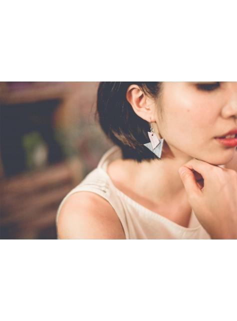 【日常系列】漂浮V耳環  兩色