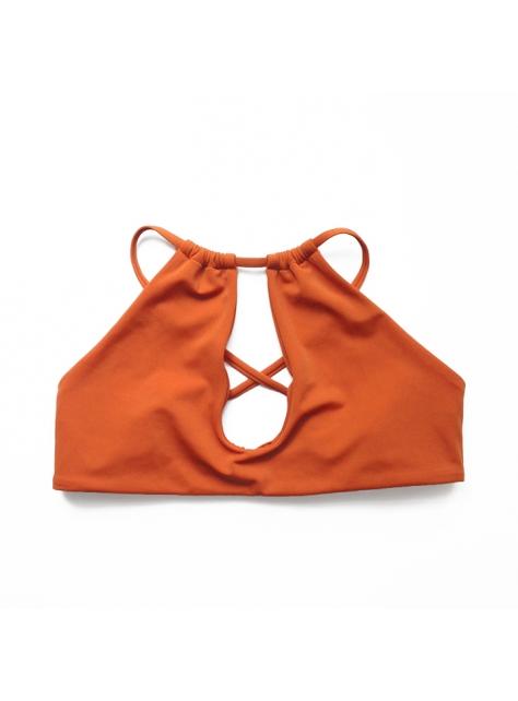 Lahaina Rust 土橘衝浪綁帶比基尼泳衣