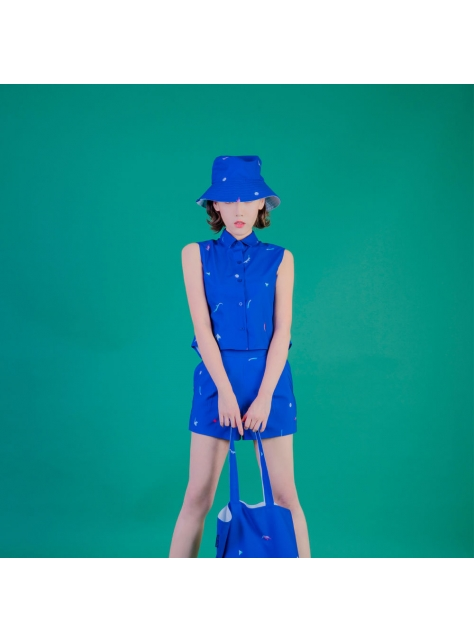 藍蜥蜴短褲