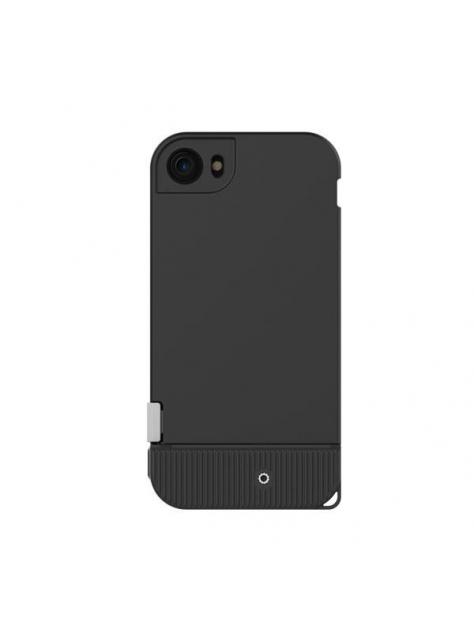 SNAP!7シリーズの携帯電話のシェル//ブラック(該当iPhone 7)