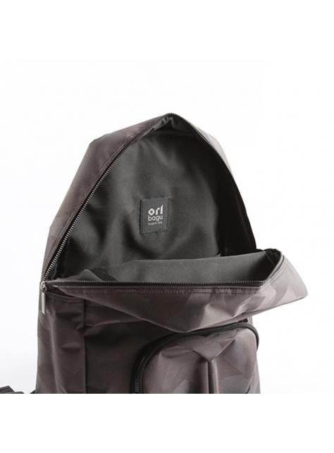 ORIBAGU 摺紙包_黑迷彩猩猩 後背包
