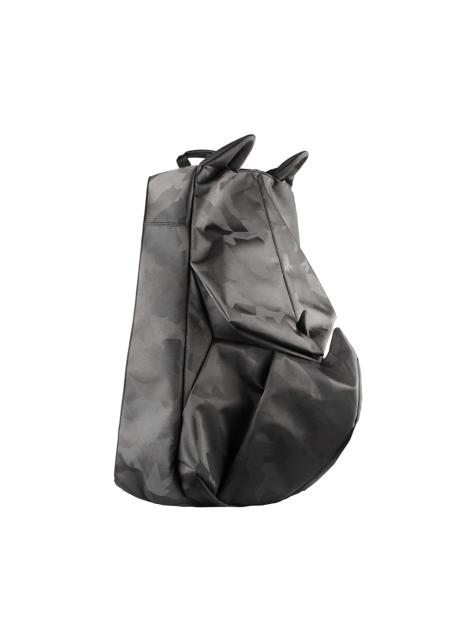 ORIBAGU 摺紙包_黑迷彩犀牛 後背包(小)