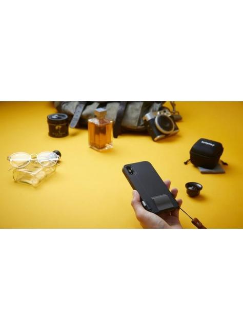 SNAP! X 系列手機殼 - 質感黑 // 適用 iPhone X