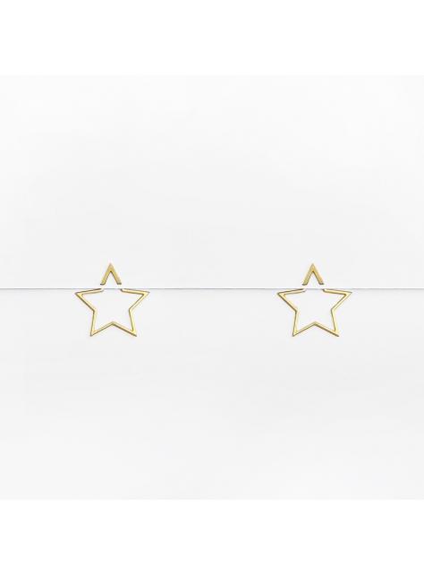 星星錯位解構感耳環