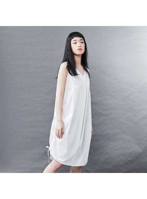 流行抽帶襯衫洋裝
