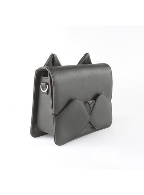 ORIBAGU 摺紙包_黑小貓 側肩包