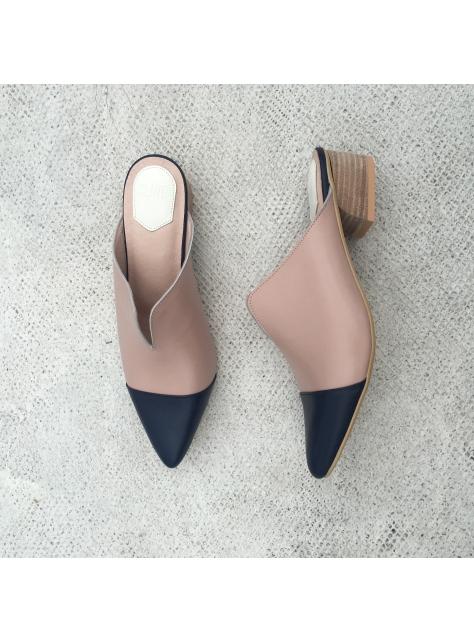 音樂主題 第3號 Jazz 穆勒鞋 夏日雙色特輯/暮藍與玫瑰黎明