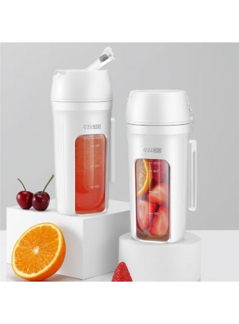【ZERO 零式】MIXER+ 直飲隨行杯果汁機 可耐熱 | 打冰沙 | 雙杯套